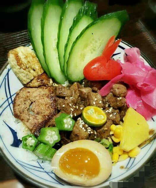 鹅肝牛肉饭