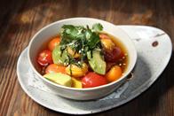 和风梅渍四种爽口番茄  4種のミニトマトの梅酢漬けサラダ40元